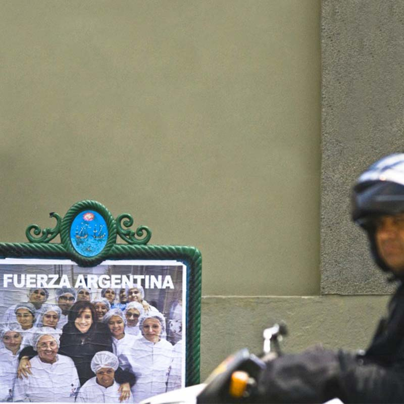 Argentina's Cristina Kirchner sails to victory